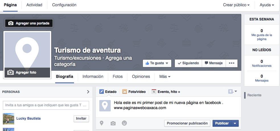 ¿Cómo poner mi negocio en Facebook correctamente?
