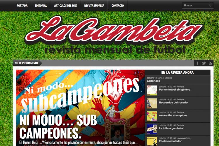 Revista La Gambeta