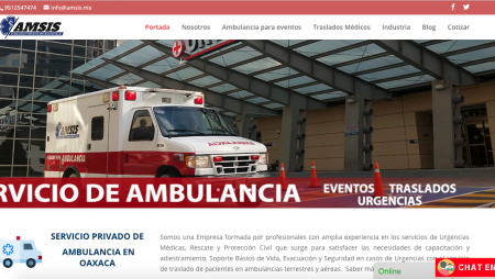 Ambulancias Amsis