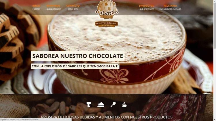 Mole y Chocolate Calenda
