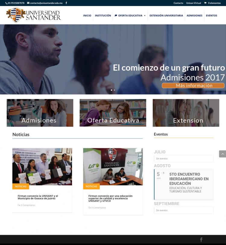 Universidad Santander Oaxaca